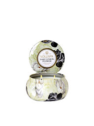 Voluspa Sake Lemon Flower 2-Wick Maison Metallo Candle