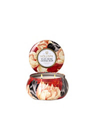 Voluspa Yuzu Rose Stonecrop 2-Wick Maison Metallo Candle