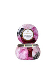 Voluspa Amaranth & Jasmine 2-Wick Maison Metallo Candle