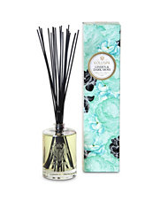 Voluspa Linden & Dark Moss Fragrant Oil Embossed Diffuser
