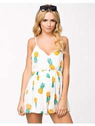 Reverse The Piña Colada Playsuit