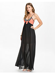 Reverse Bandeau Maxi Dress