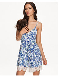 Reverse Porcelain Playsuit