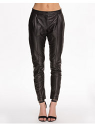 J Lindeberg Ebony Feather Leather Pant