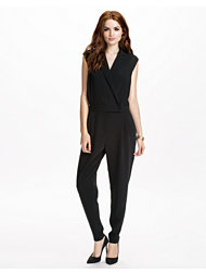 J Lindeberg Charlotte Smooth Techno Twill Jumpsuit