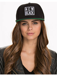 New Black Snapback Hat