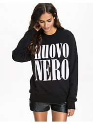 New Black Nero Crewneck