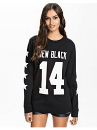 New Black All Star L/S Tee
