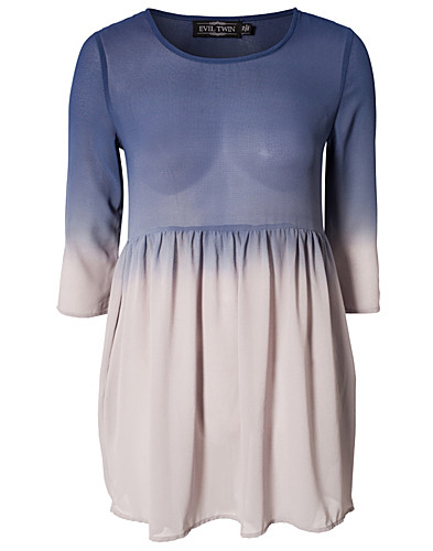 DRESSES - EVIL TWIN / THE DYING LIGHT DIP DYE DRESS - NELLY.COM