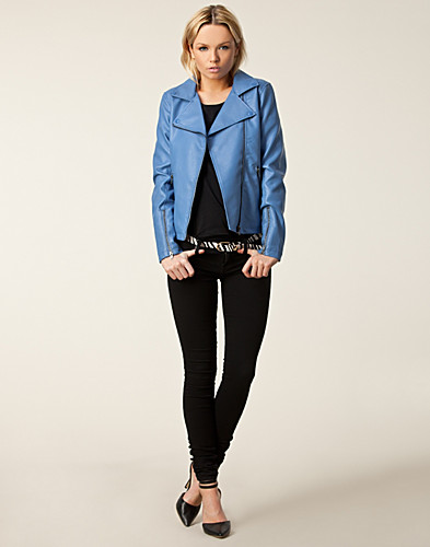 JACKETS AND COATS - ISSUE 1.3 / CAPUCHINE BIKER JACKET - NELLY.COM