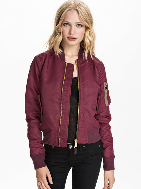 ac bomber jacket schott bordeaux vestes v tements femme la mode en ligne. Black Bedroom Furniture Sets. Home Design Ideas