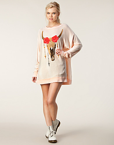 JUMPERS & CARDIGANS - WILDFOX / DESERT ROSE SWEATER - NELLY.COM