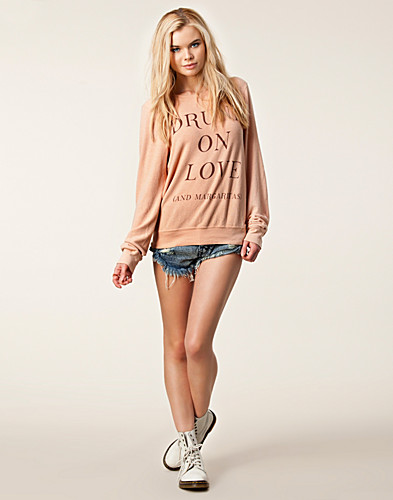 TRÖJOR - WILDFOX / DRUNK ON LOVE JUMPER - NELLY.COM