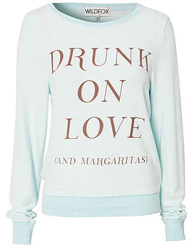 JUMPERS & CARDIGANS - WILDFOX / DRUNK ON LOVE JUMPER - NELLY.COM