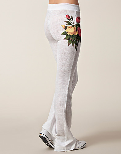 BYXOR & SHORTS - WILDFOX / SLEEPING FLOWERS PANTS - NELLY.COM