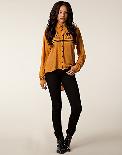 TOPPAR - WILDFOX / WILDFOX CRUISE SHIRT - NELLY.COM