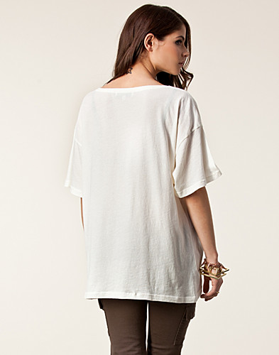 TOPS - WILDFOX / MORT UNISEX TEE - NELLY.COM