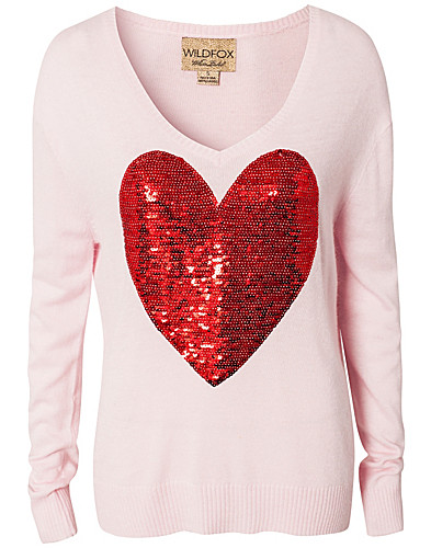 TRÖJOR - WILDFOX / SEQUIN HEART - NELLY.COM