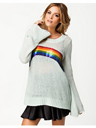 Wildfox Rainbow Sweater