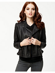 Just Female Mile Leather Jacket