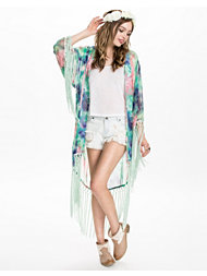 Kiss The Sky Rainbow Serpent Kimono