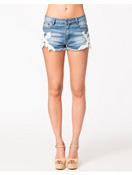 Kiss The Sky White Heat Shorts