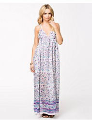 Kiss The Sky Drifting Trough Maxi Dress
