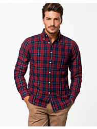 Gant Rugger Indigo Oxford Check Hobd