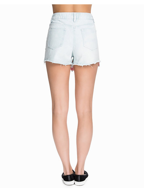 Tapestry Front High Waisted Shorts