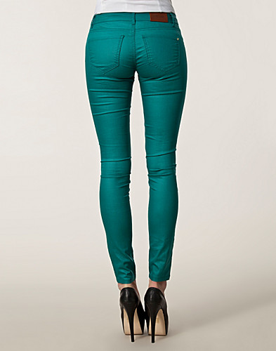 TROUSERS & SHORTS - SUPERTRASH / PEPPY EMERALD PANTS - NELLY.COM