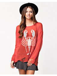 Wildfox Lobster Lenon Sweater