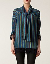 PAINTED STRIPE BLOUSE