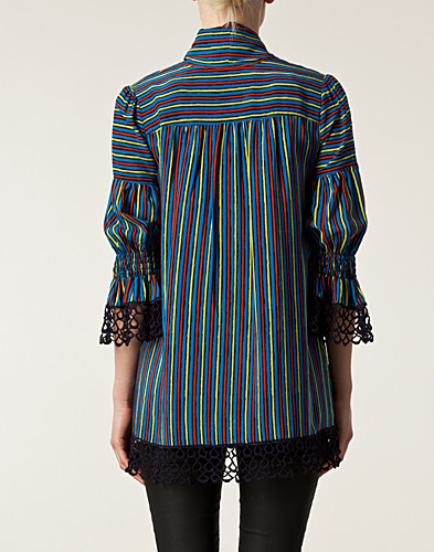 BLOUSES & SHIRTS - ANNA SUI / PAINTED STRIPE BLOUSE - NELLY.COM