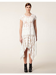 Anna Sui Handkerchief Lace Skirt