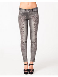 SuperTrash Paradise Crochet Jeans
