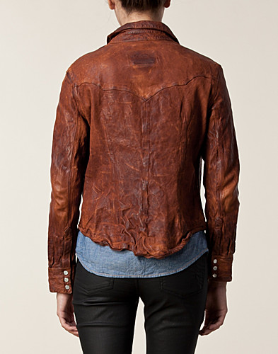 BLOUSES & SHIRTS - JEAN SHOP / LEATHER WESTERN - NELLY.COM