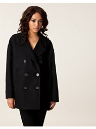 Neil Barrett Oversized Double Peacoat