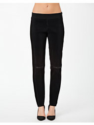 Neil Barrett Mixed Fabric Leggings