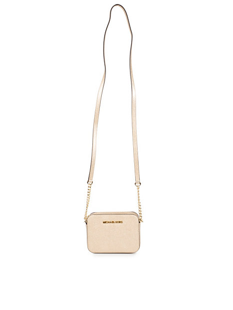 Michael Kors Laukut Tarjous : Jet set travel crossbody michael kors kulta