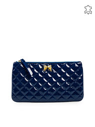 Moschino Cheap & Chic Matelasse Heart Clutch