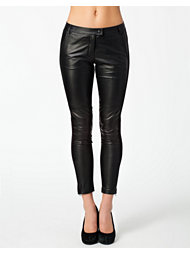Moschino Cheap & Chic Dina Leather Pants