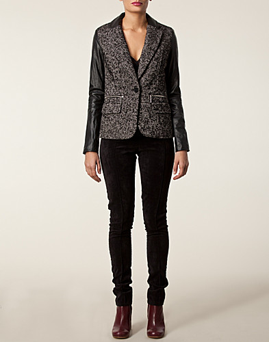 JACKETS AND COATS - MICHAEL MICHAEL KORS / LEATHER BLAZER - NELLY.COM