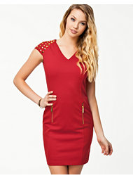 Michael Michael Kors Studded Ponte Dress