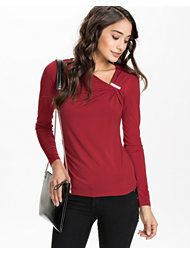 Michael Michael Kors Logo Trim Top