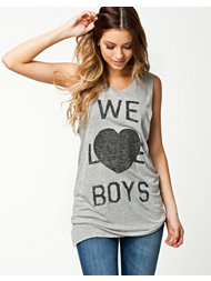 Zoe Karssen We Love Boys Tank