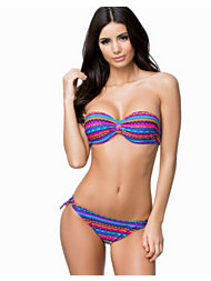 Hot Anatomy Printed Push Up Bikini Bra