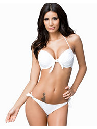 Hot Anatomy Bow Tie Push Up Bikini Bra