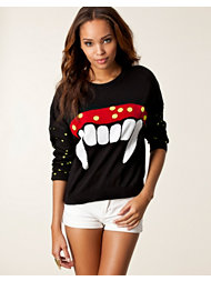 Mad Love Twilight Fangs Sweater