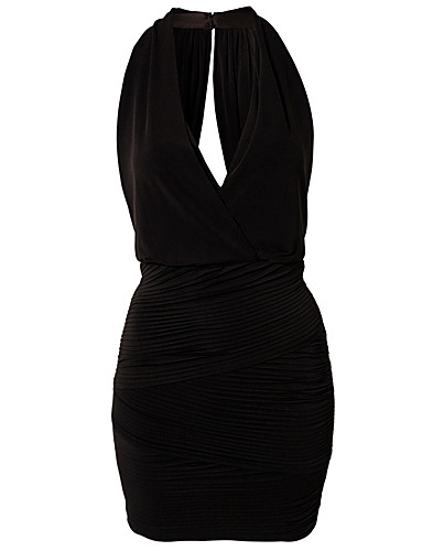 PARTY DRESSES - BCBG MAX AZRIA / HALTER DRAPE DRESS - NELLY.COM