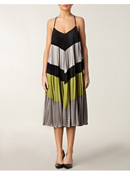 BCBG Max Azria Colorblocked Dress
